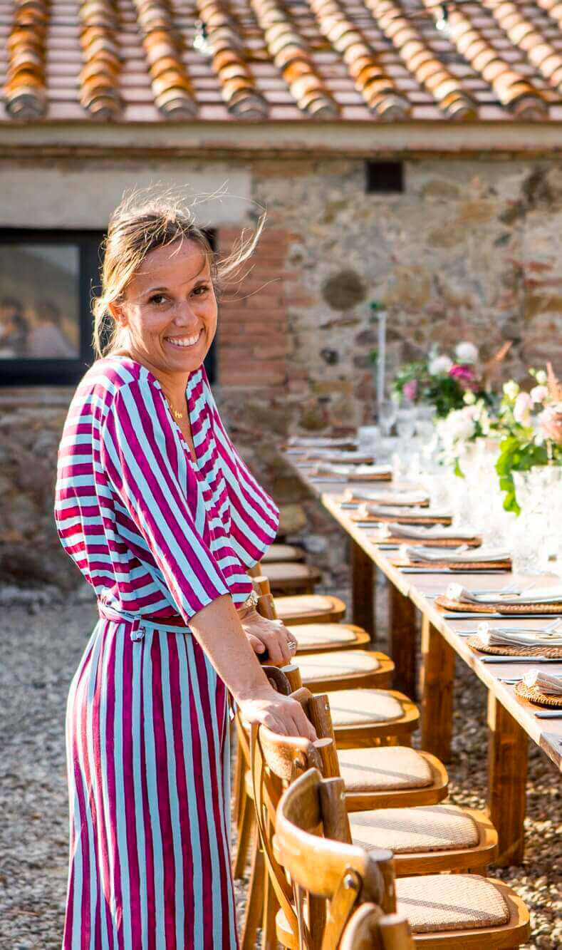 Giulia Alessandri. Wedding Planner in Tuscany.
