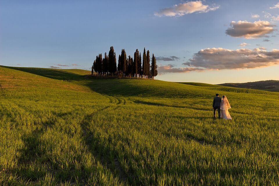 The most beautiful villages to get married in Tuscany