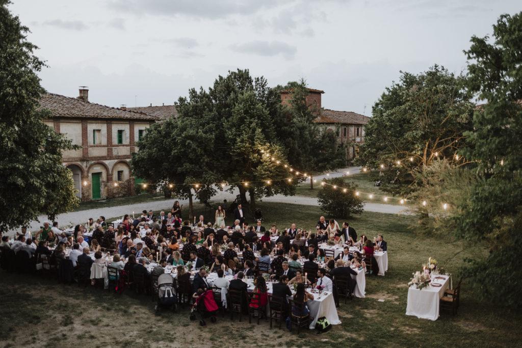 Wedding weekend in Tuscany