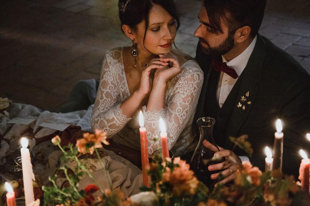 Autumn wedding in Tuscany