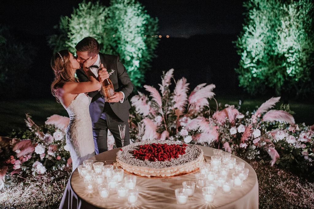 Giulia Alessandri, Wedding Planner. Destination Wedding in a vineyard in Tuscany.