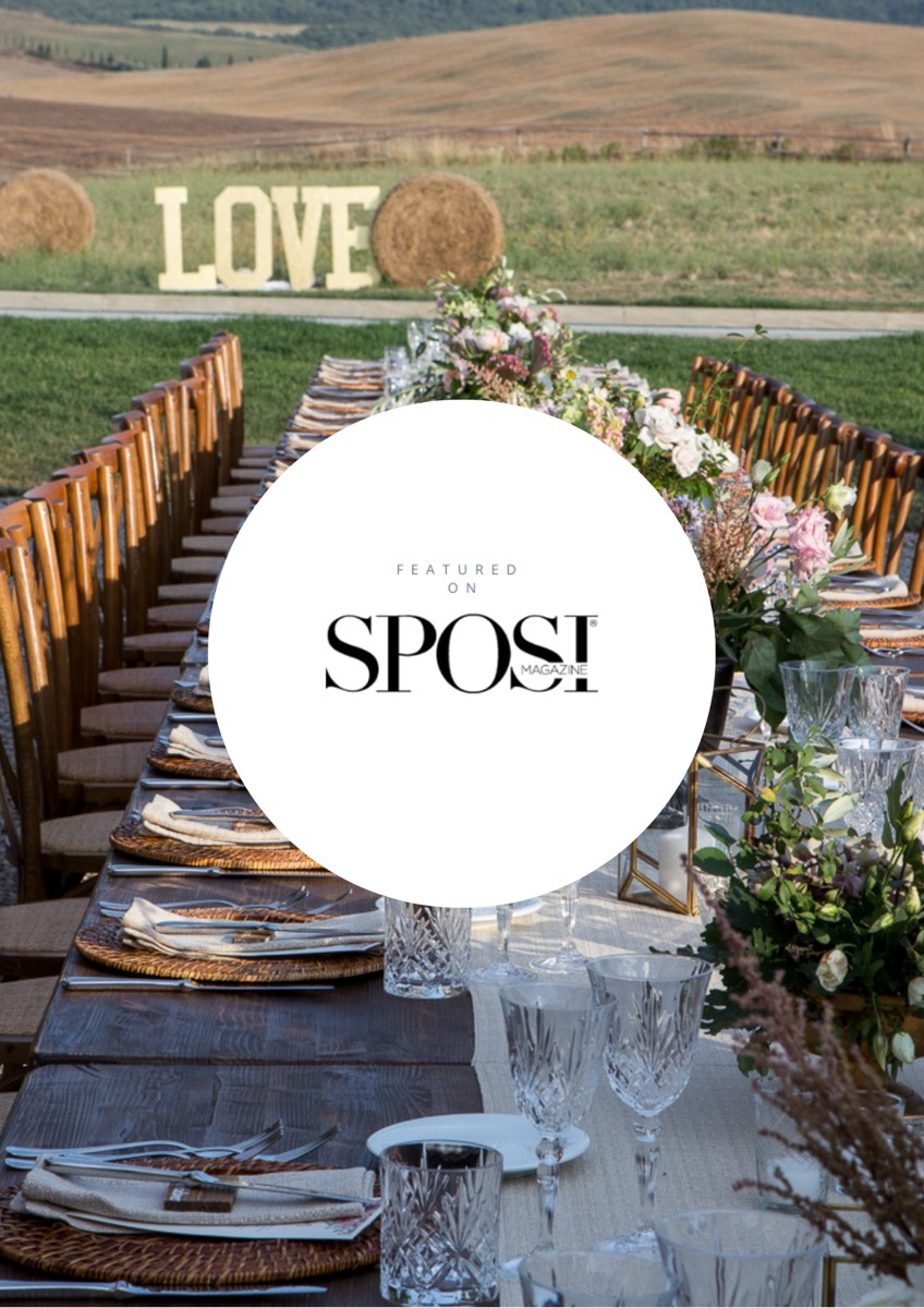 Giulia Alessandri Wedding Planner Toscana - Pubblicazione Sposi Magazine