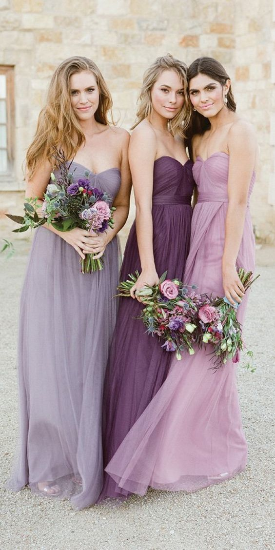Looks for bridesmaids and guests